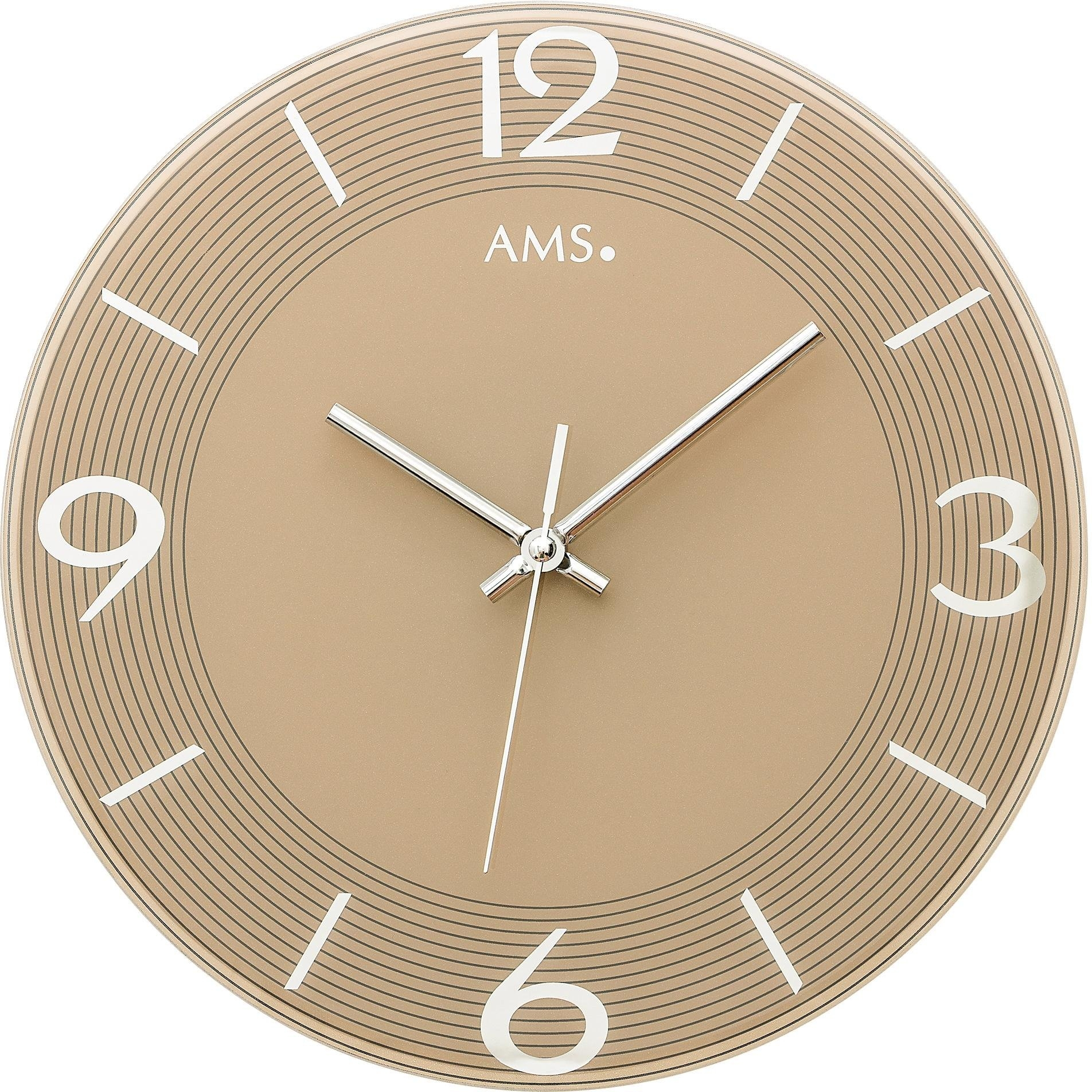 AMS wandklok W9572 - gratis ruilen op otto.nl