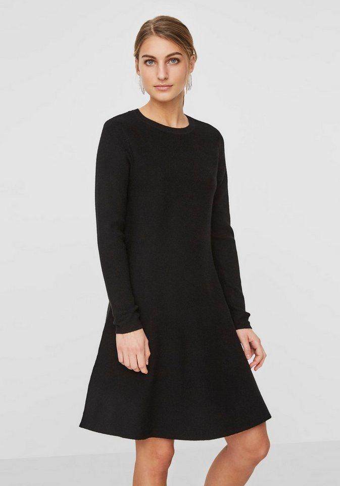 Vero Moda tricotjurk NANCY zwart