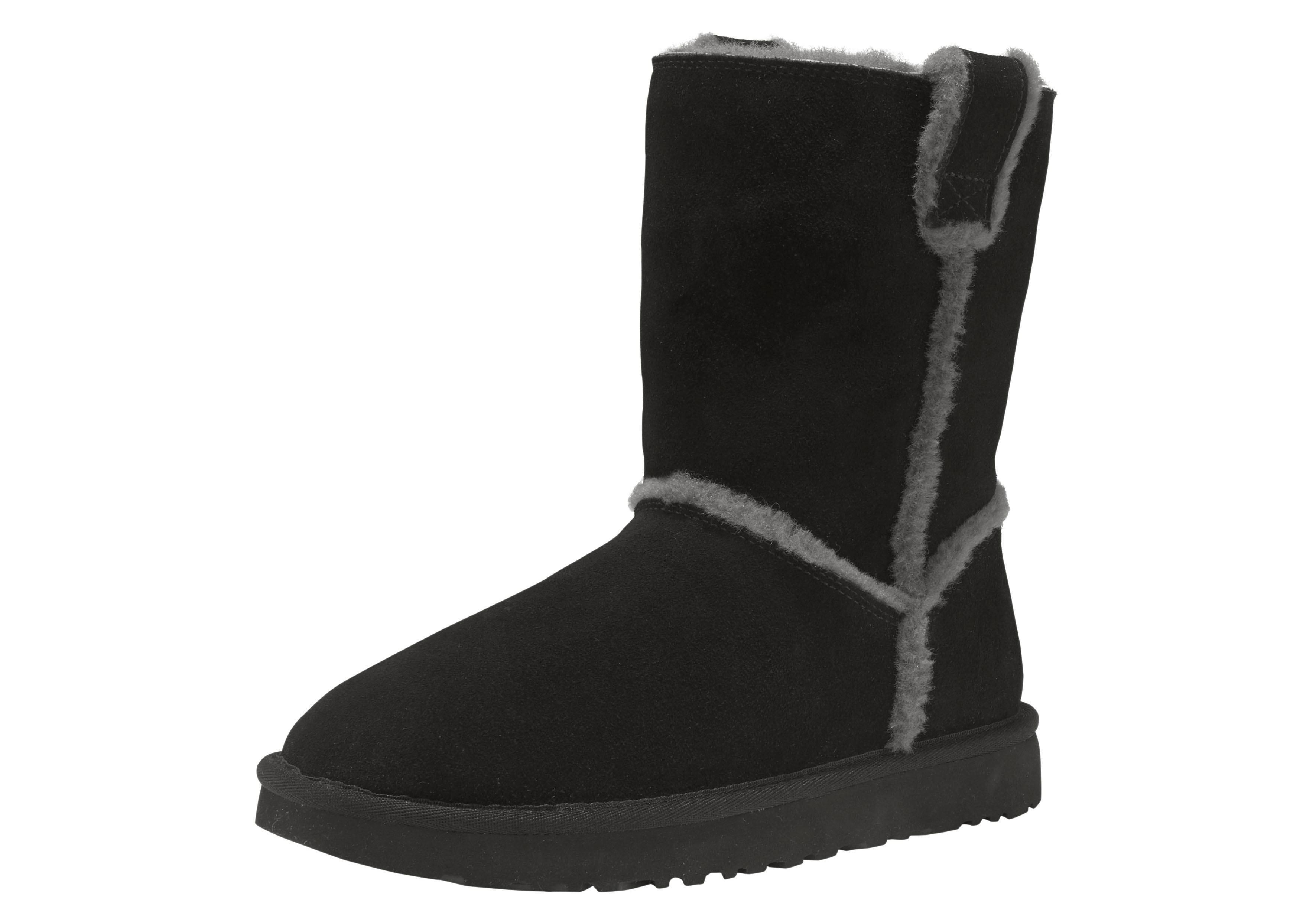 Ugg boots zonder sluiting »Classic Short Spill Seam« voordelig en veilig online kopen