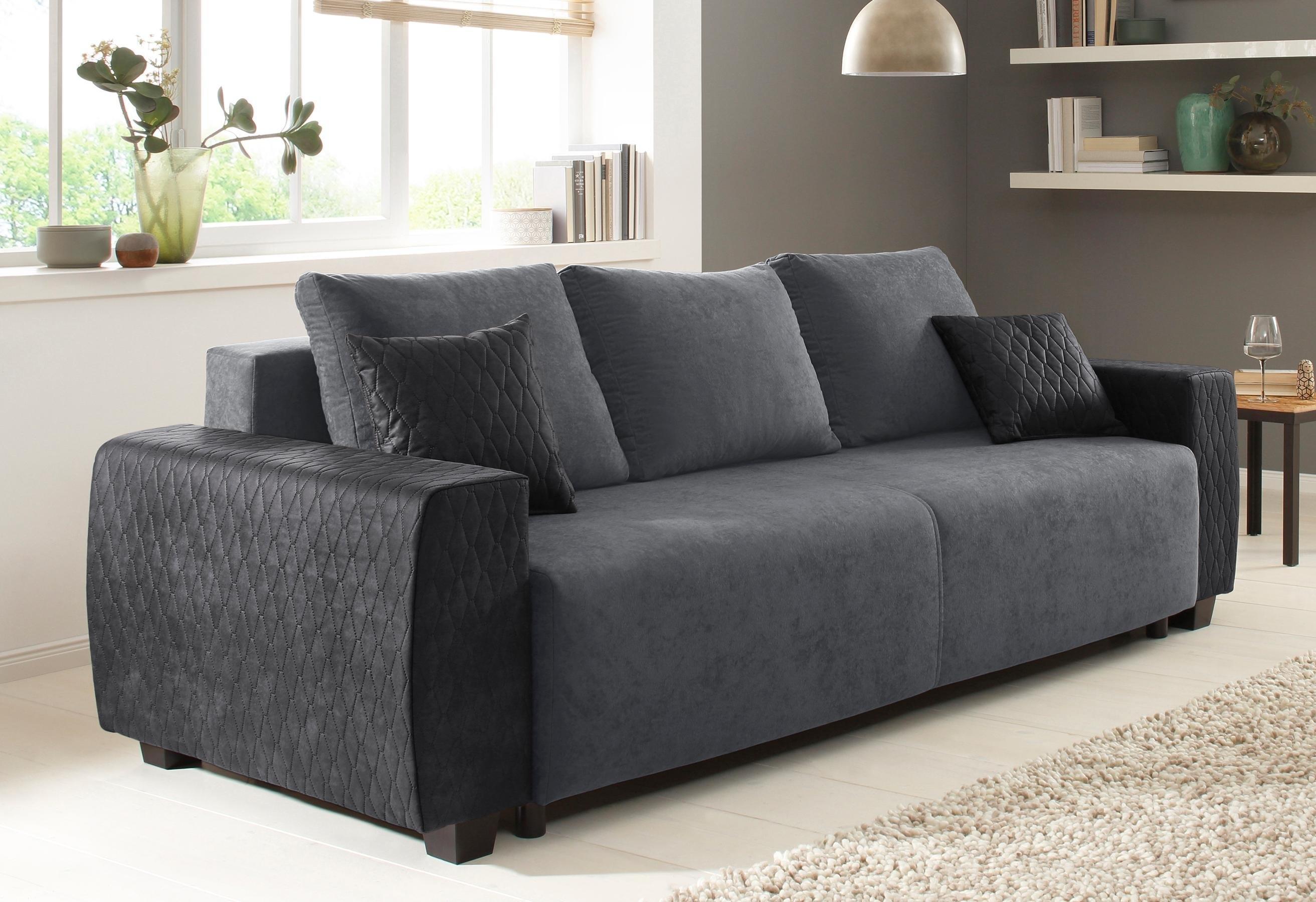 Zwart Lederen Slaapbank.Goedkope Slaapbank Ikea