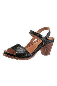 gemini sandaaltjes met hielriempje zwart