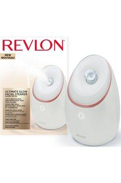 revlon ultimate glow gezichtssauna - rvsp3537e, opwekkende damp met uv-technologie wit