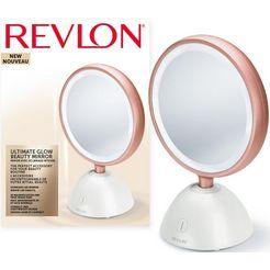 revlon vergrotingsspiegel ultimate glow - rvmr9029uke, oplaadbaar via usb wit
