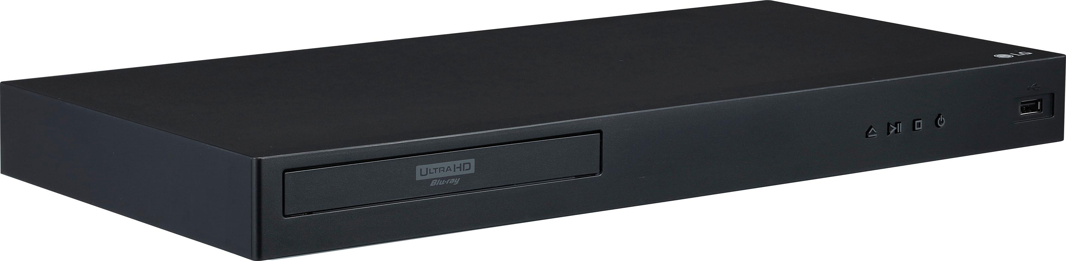 LG »UBK80« blu-rayspeler (4k Ultra HD, LAN (ethernet) wifi, 4K-upscalingtechniek) nu online bestellen