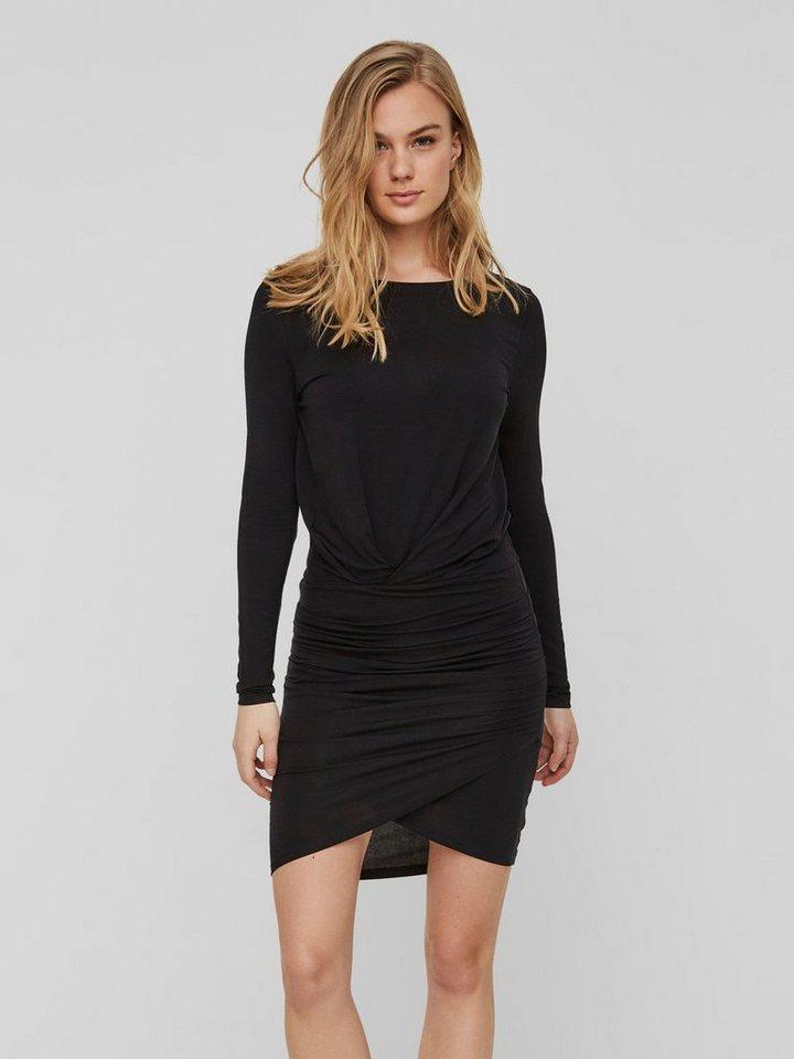 Vero Moda Aware jurk met lange mouwen zwart