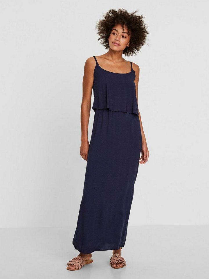 Vero Moda zomerse Maxi jurk blauw