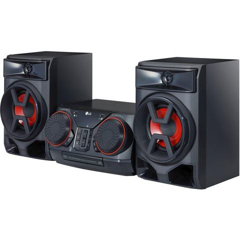 LG CK43 stereoset (bluetooth, FM-tuner met RDS, 300 W)