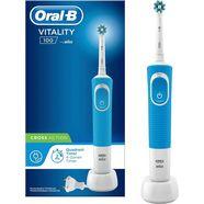 oral b elektrische tandenborstel vitality 100 crossaction blauw blauw
