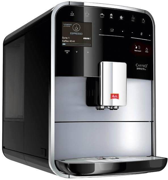 Melitta volautomatisch koffiezetapparaat Melitta®CAFFEO Barista TS Smart® F85/0-101, zilver/zwart - gratis ruilen op otto.nl