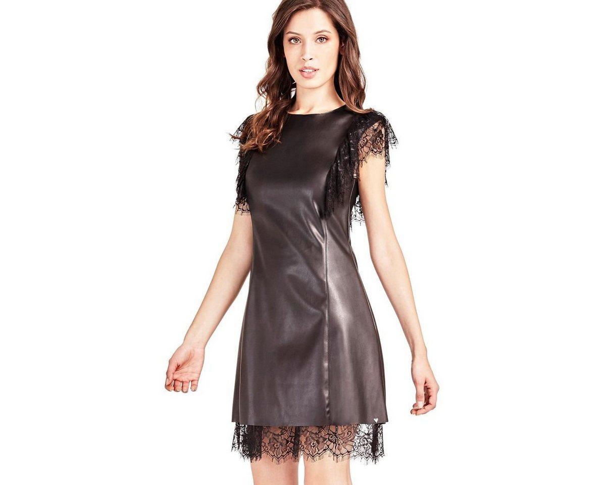 Guess kanten jurk zwart