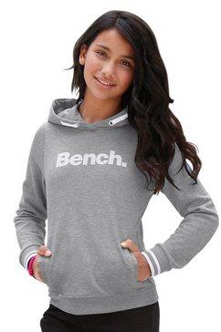 bench. hoodie met frontprint grijs