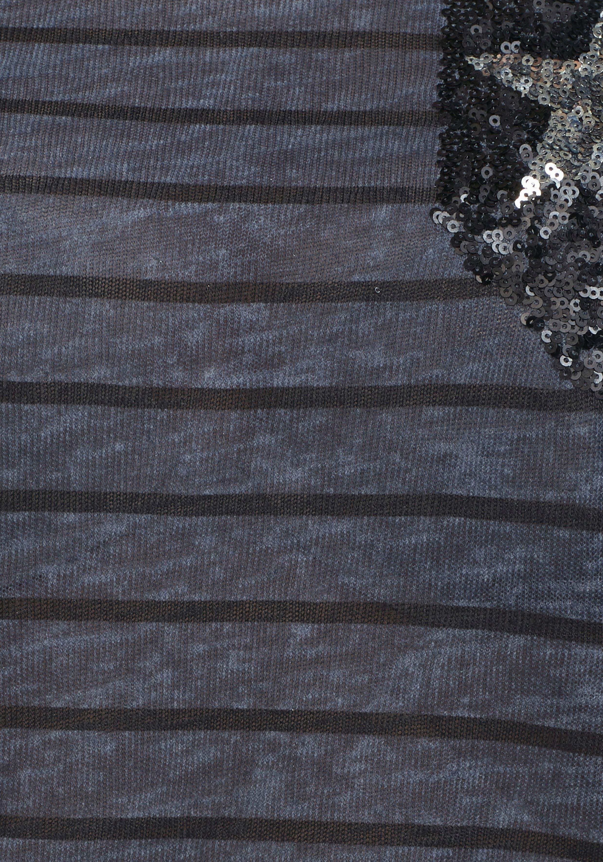 Met Shirt Verkrijgbaar Aniston Mouwen Online Lange zVSUpqM