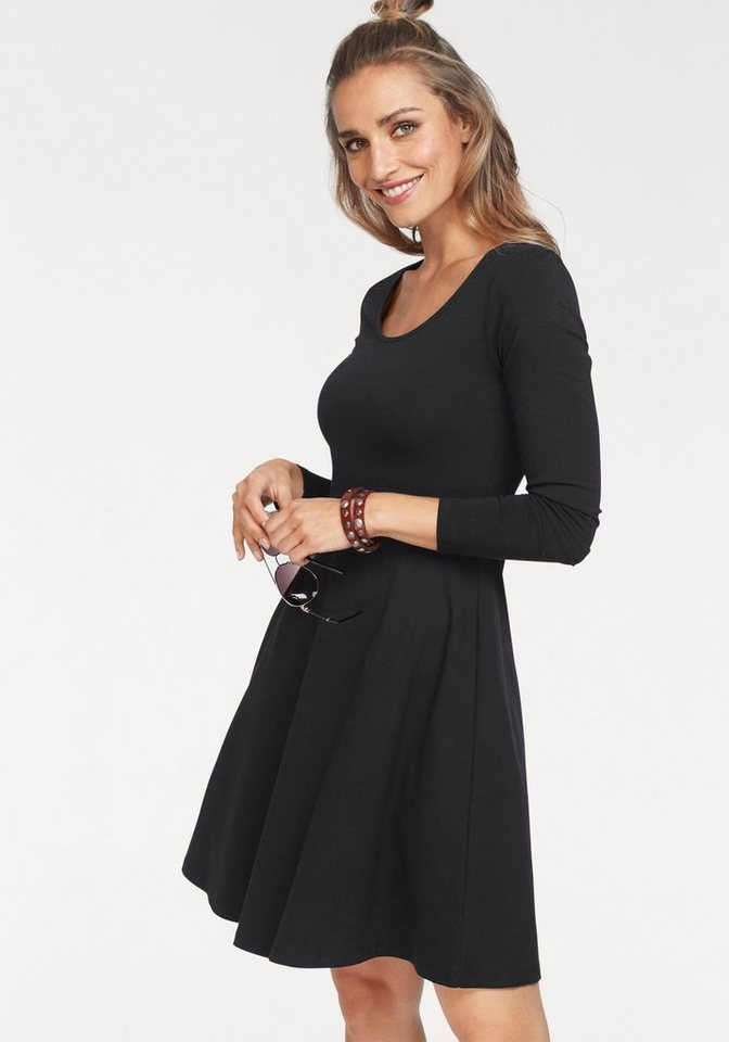 NU 21% KORTING: Aniston jerseyjurk zwart