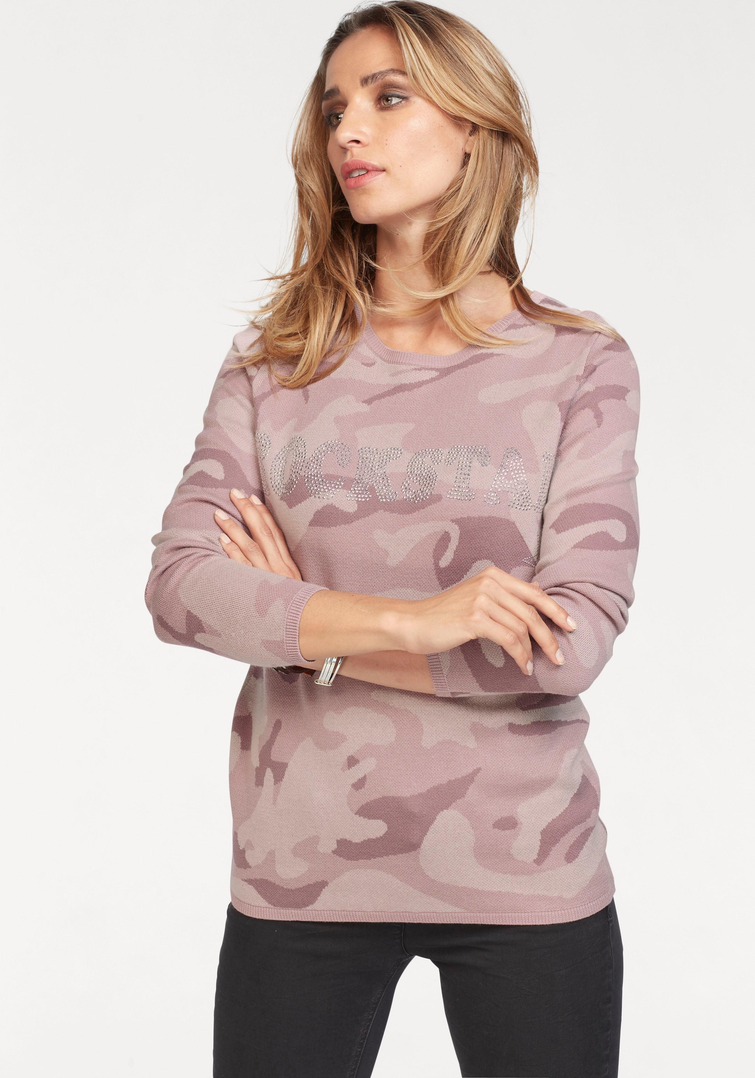 Aniston Casual Aniston trui met ronde hals in de webshop van OTTO kopen