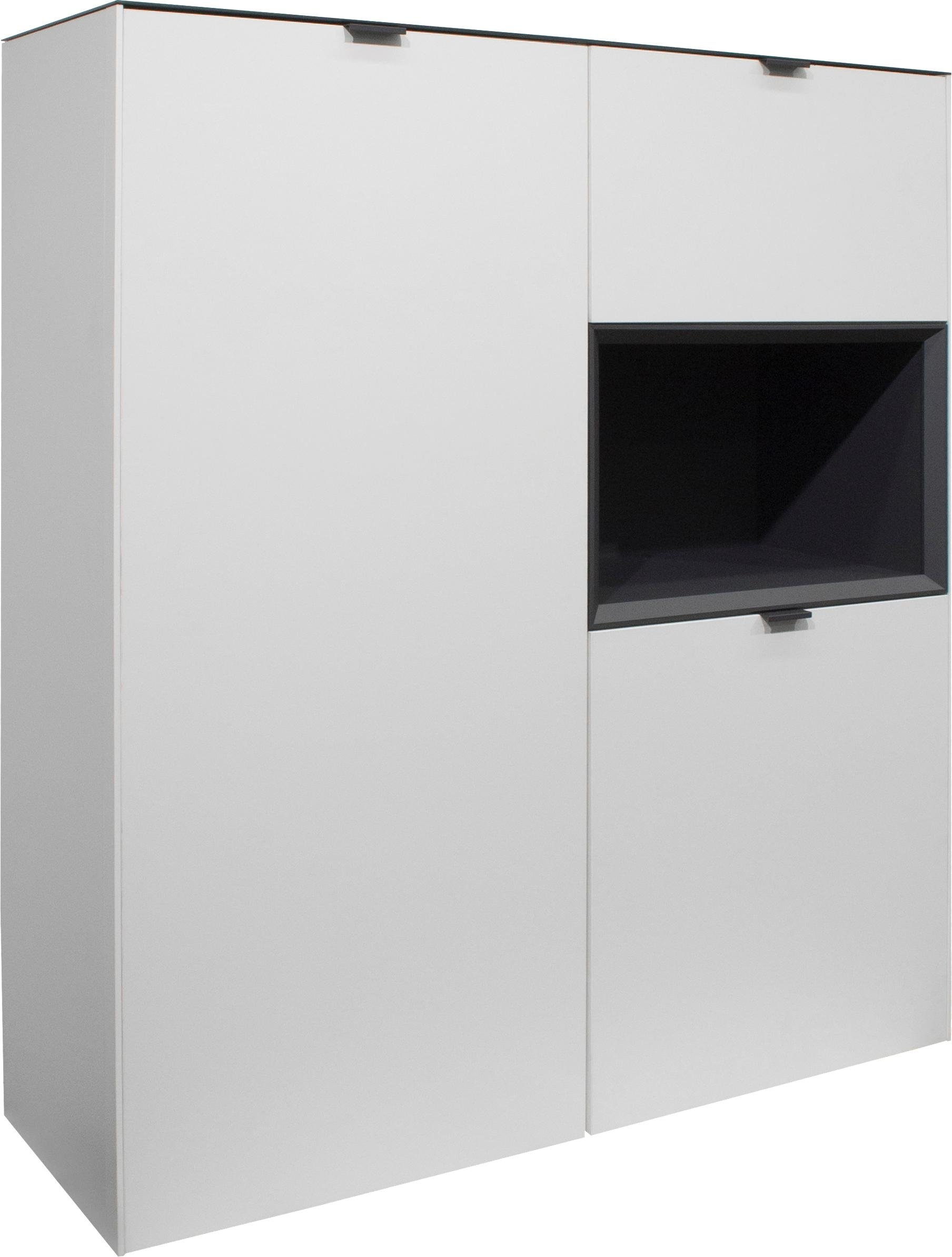 vitrinekast Micelli Hoogte 140 cm nu online kopen bij OTTO