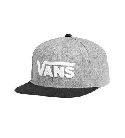 Dames Vans baseballcap DROP SNAPBACK Vans grijs Accessoires