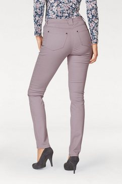 cheer slim fit jeans roze