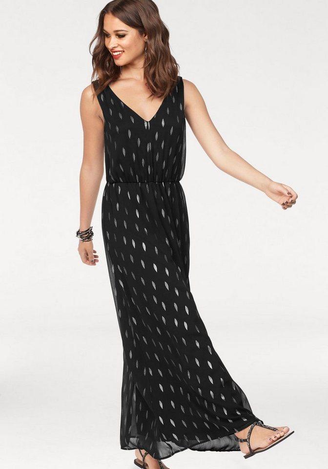 ONLY maxi-jurk LINETTE zwart