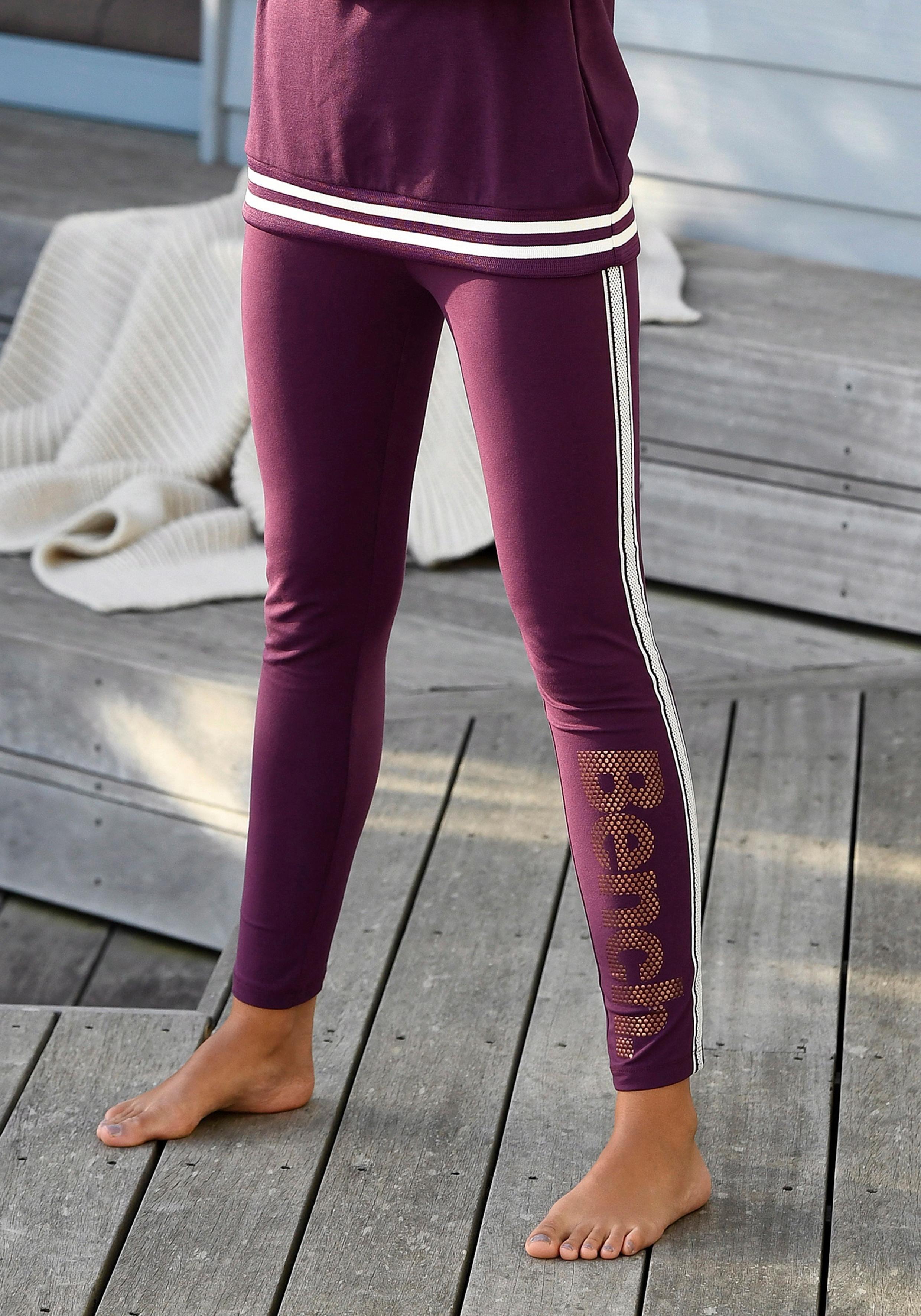 Bench. legging mit Logodruck in Metalloptik in de webshop van OTTO kopen