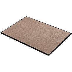 mat, »miami uni«, schoener wohnen-kollektion, rechthoekig, hoogte 7 mm, machinaal getuft bruin