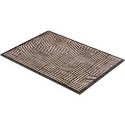 mat, »manhattan 004«, schoener wohnen-kollektion, rechthoekig, hoogte 7 mm, machinaal getuft beige