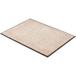 mat, »miami 002«, schoener wohnen-kollektion, rechthoekig, hoogte 7 mm, machinaal getuft beige