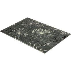 mat, »manhattan 001«, schoener wohnen-kollektion, rechthoekig, hoogte 7 mm, machinaal getuft grijs