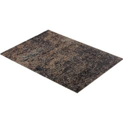 mat, »manhattan 002«, schoener wohnen-kollektion, rechthoekig, hoogte 7 mm, machinaal getuft grijs