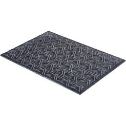 mat, »manhattan 005«, schoener wohnen-kollektion, rechthoekig, hoogte 7 mm, machinaal getuft blauw