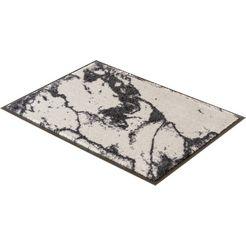 mat, »miami 001«, schoener wohnen-kollektion, rechthoekig, hoogte 7 mm, machinaal getuft zilver