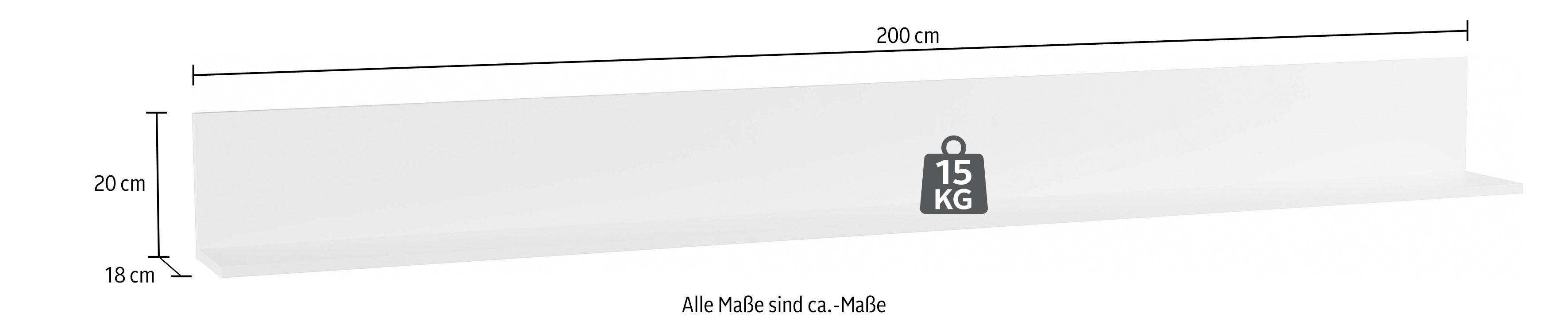 Fotoplank Wit 2 Meter.Wandplank Breedte 200 Cm Online Bestellen Otto