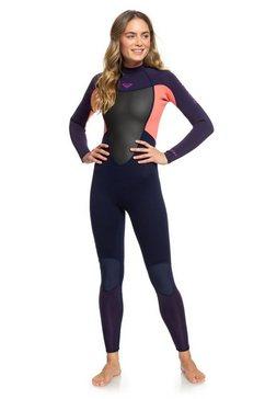 roxy wetsuit met achterrits »3-2mm prologue« blauw