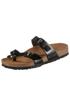 birkenstock slippers »mayari« zwart