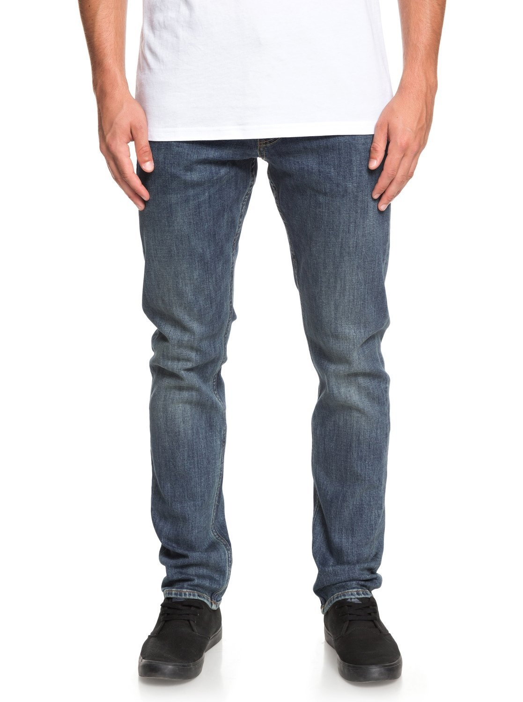 Quiksilver Jeans met rechte pasvorm »Revolver Medium Blue« goedkoop op otto.nl kopen