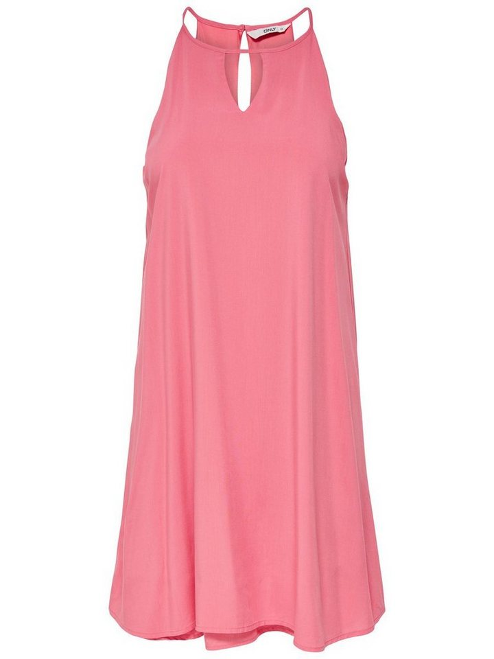 ONLY Loose fit Mouwloze jurk oranje