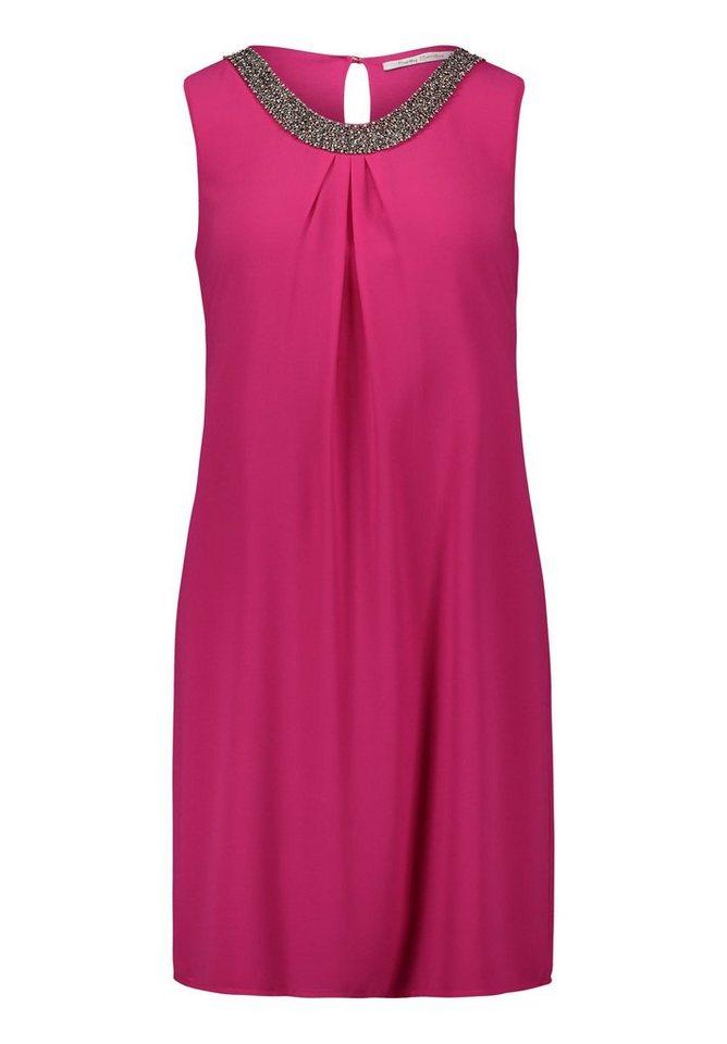 Betty Barclay chiffon jurk roze