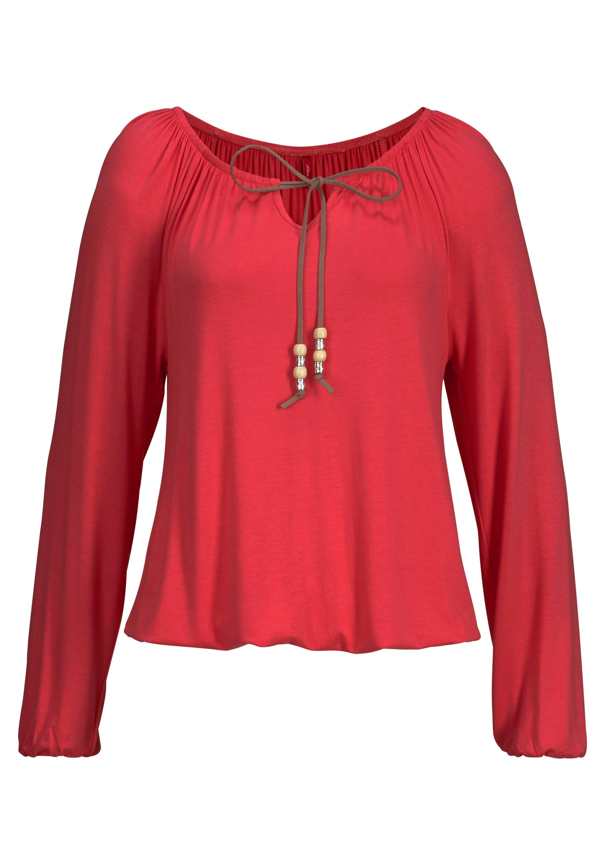 s.Oliver Beachwear S.OLIVER RED LABEL Beachwear strandshirt in de webshop van OTTO kopen