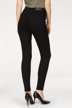 vero moda high waisted jeans »sophia« zwart