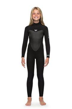 roxy wetsuit met achterrits »4-3mm prologue« zwart