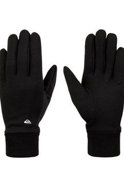 quiksilver gebreide handschoenen hottawa zwart