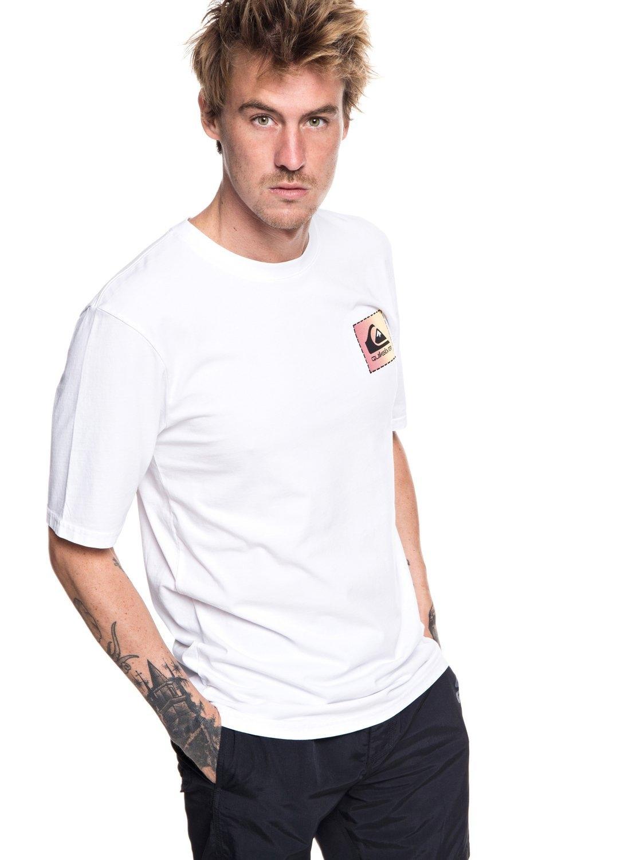 T Gevonden shirtoriginal Patch Quiksilver Makkelijk Classic BerdxoC