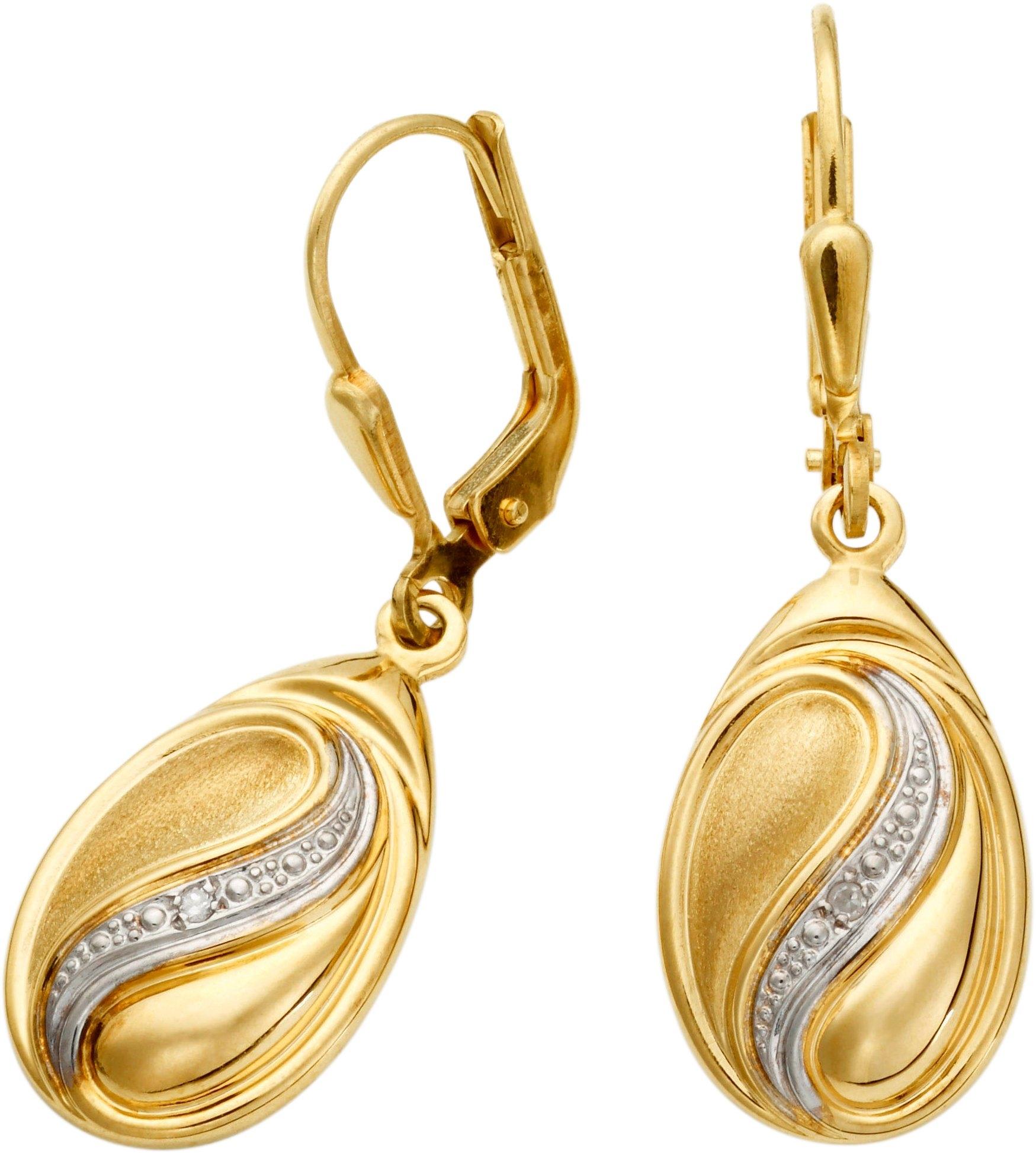Lady oorhangers met diamant in de webshop van OTTO kopen