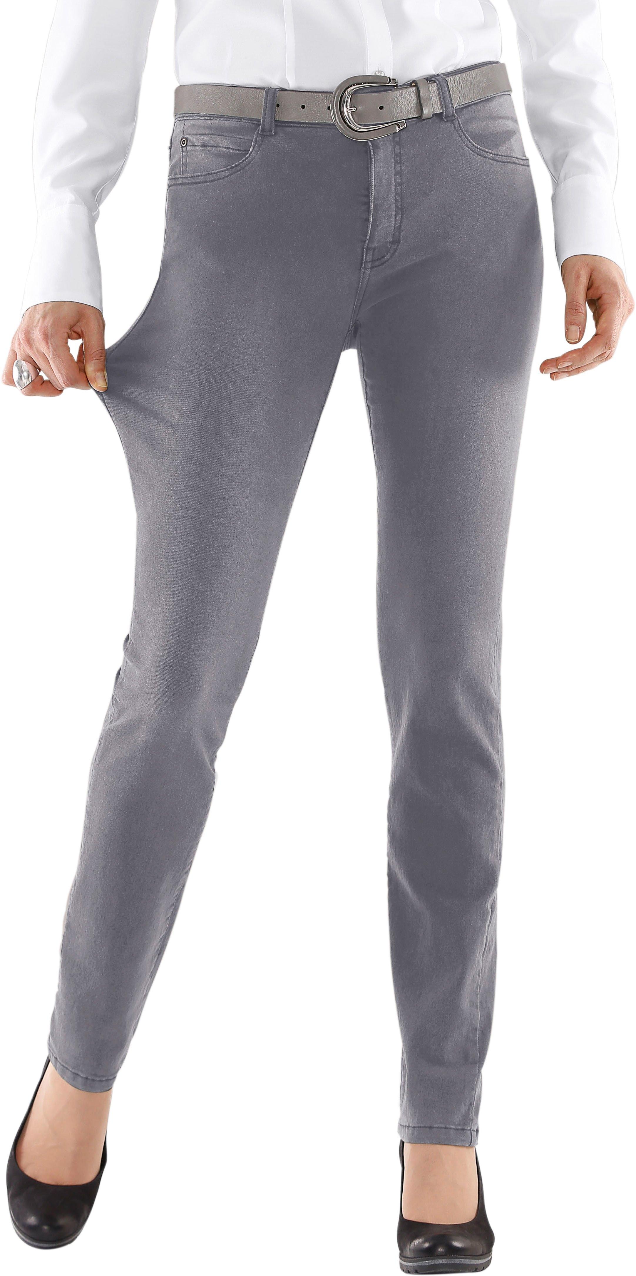 Collection L. jeans met heupstuk achter - gratis ruilen op otto.nl