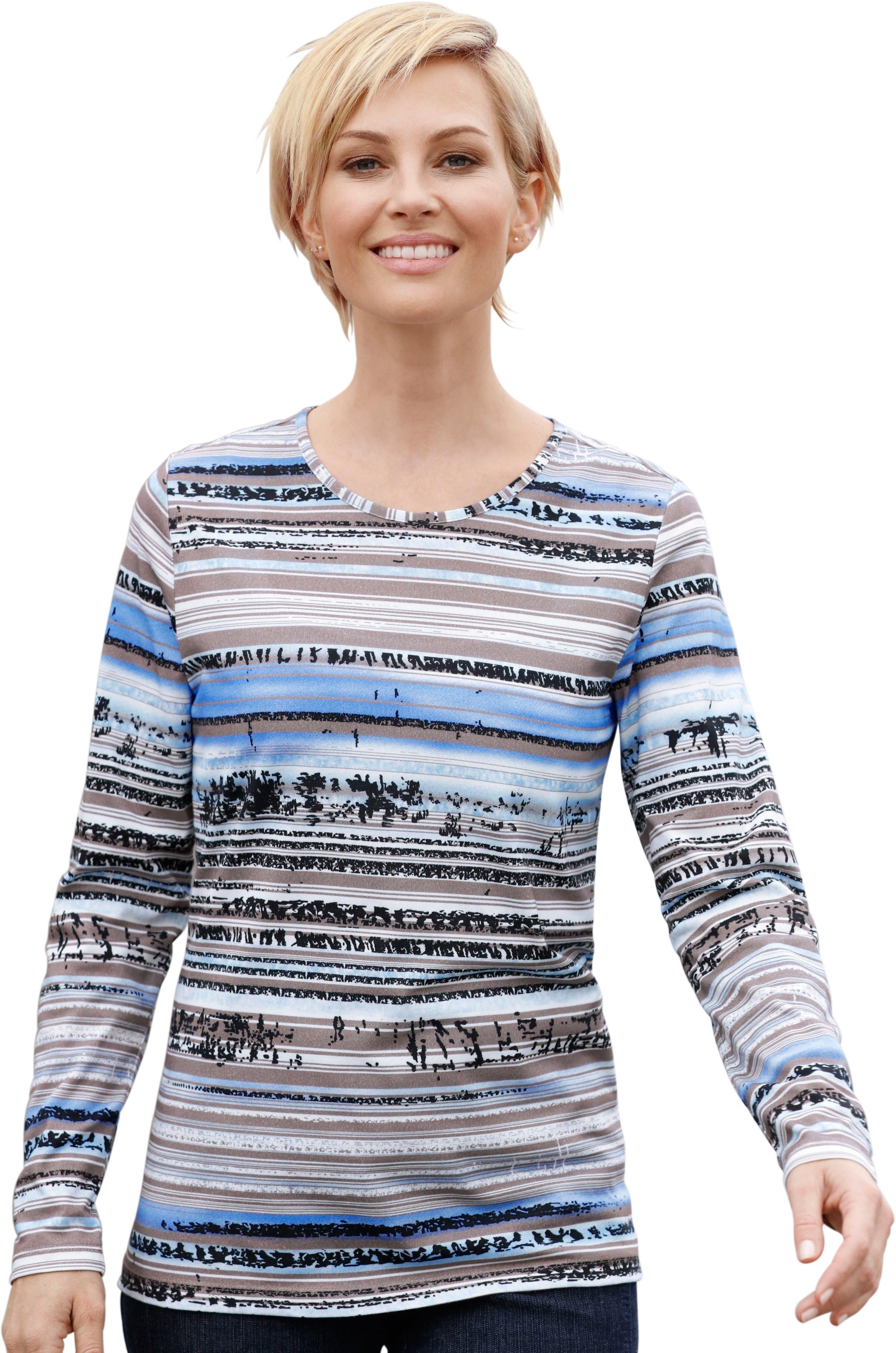 Casual Met Printmotief Shirt Veelzijdig Online Kopen Looks Te Combineren XuTOPkZi