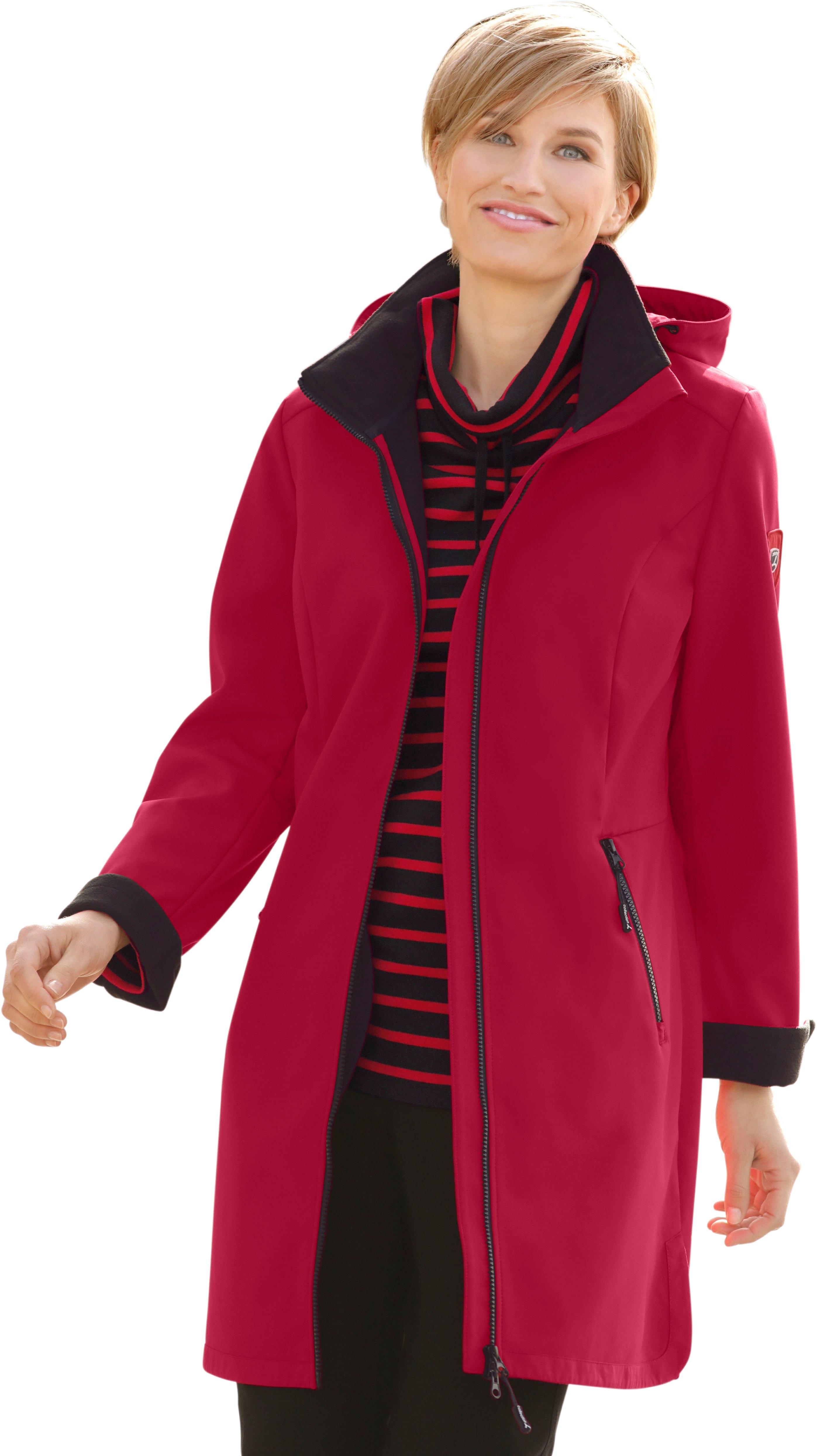 Casual Looks jas met fleecevoering bij OTTO online kopen