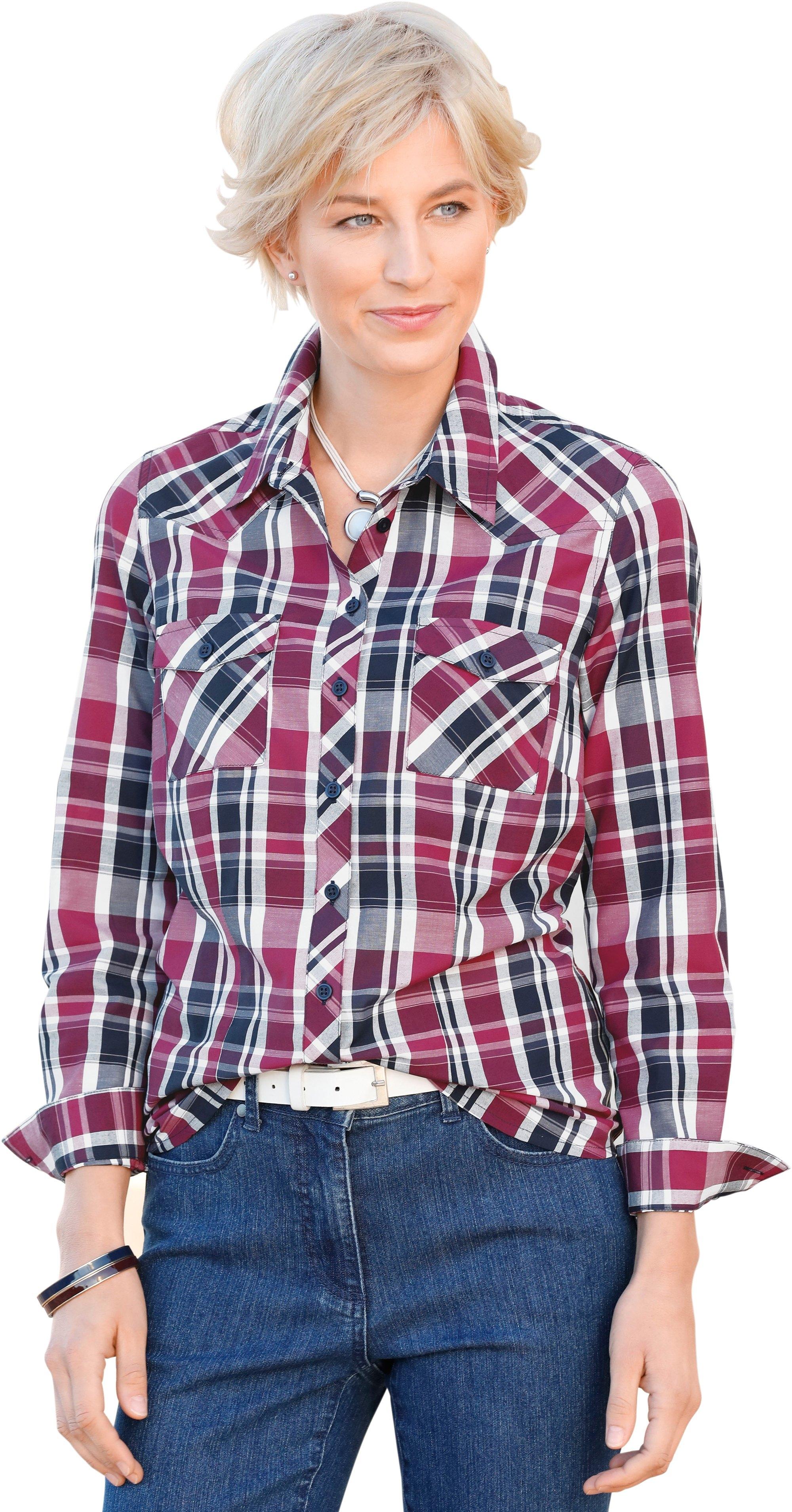 Collection L. blouse met schouderpas en knoopsluiting goedkoop op otto.nl kopen