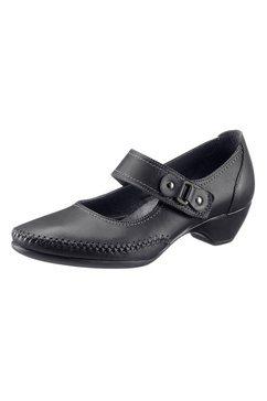 casual looks ballerina's met verwisselbaar voetbed zwart