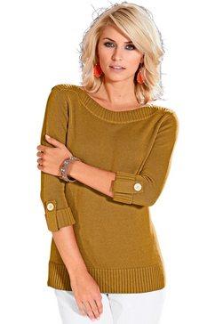 casual looks trui in trendy look geel