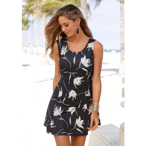 Lascana scuba-jurk zwart