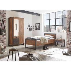 home affaire slaapkamerserie »detroit« bruin